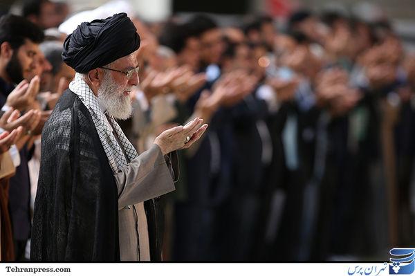نماز عید سعید فطر به امامت رهبر معظم انقلاب/تصاویر