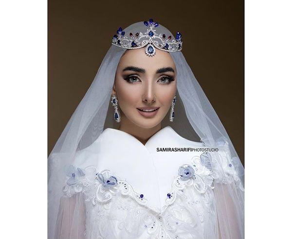 لباس عروس خانم بایگر جوان + عکس