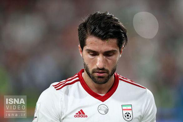 روزگار بد لژیونر ایرانی در تیمش