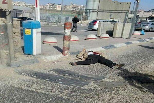 شهادت یک شهروند فلسطینی در کرانه باختری