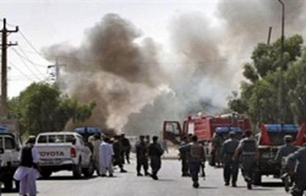 حمله انتحاری طالبان به کنسولگری آلمان