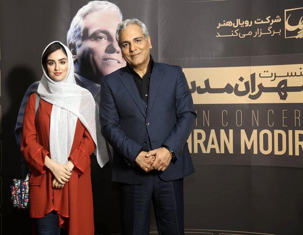 هانیه غلامی مهمان کنسرت مهران مدیری+عکس