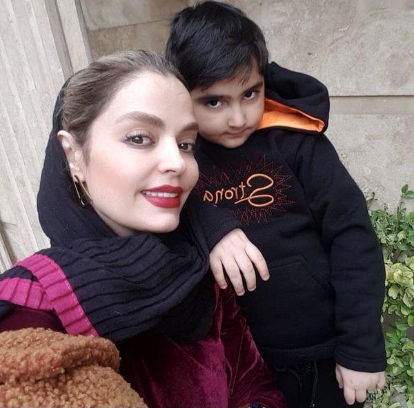سلفی مادرانه سپیده خداوردی + عکس
