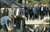 تلگرام :چاپلوسی جدید استاندار سمنان برای روحانی +عکس