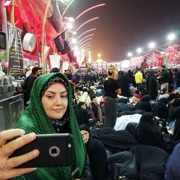 خانم مجری ای که امام حسین(ع) مستجاب الدعوه اش کرد+عکس