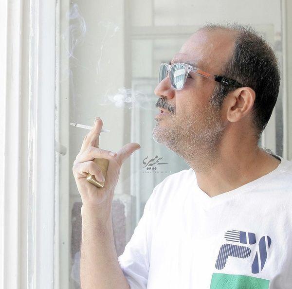 سیگار های لب پنجره ای غفوریان + عکس