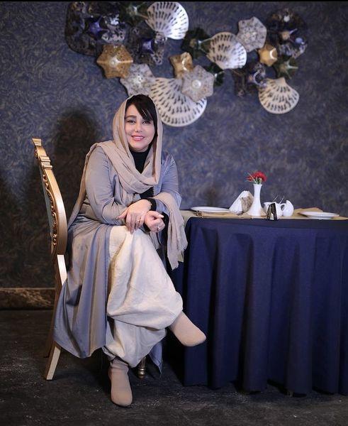 بهنوش بختیاری در رستورانی لاکچری + عکس