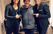 عکس جنجالی مهران غفوریان با خواننده های لس آنجلسی+عکس