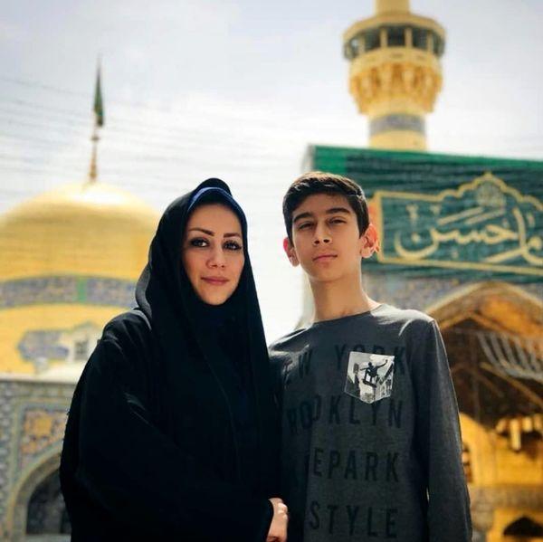 خاله قاصدک و نفسش در مشهد+عکس
