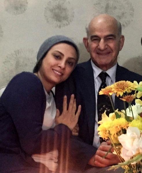 پدر شوهر بازیگر مشهور درگذشت + عکس