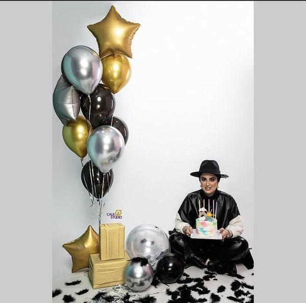 سبک خاص تولد هانیه غلامی + عکس