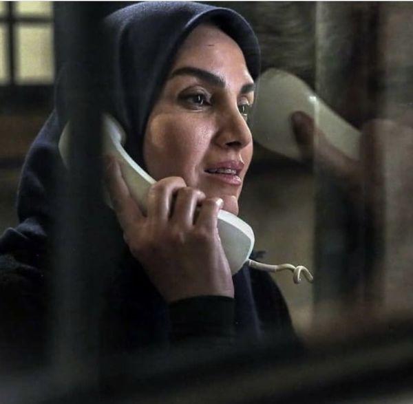 خانم بازیگر در زندان + عکس