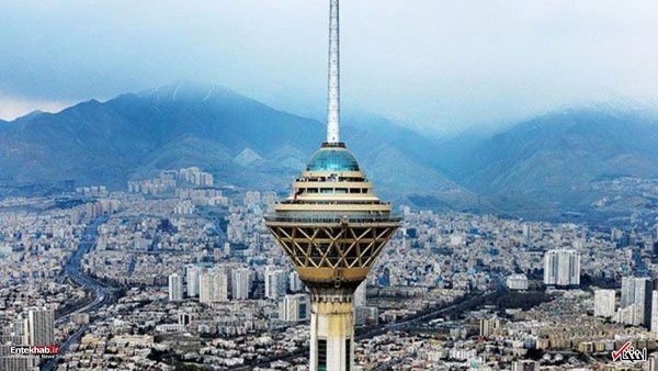 وضعیت هوای تهران در 1 مهر 99