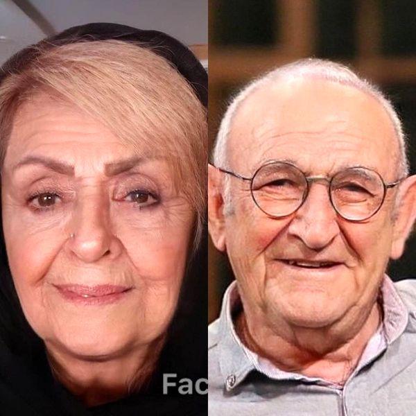 اوس موسی و خانمش هم پیر شدند+عکس