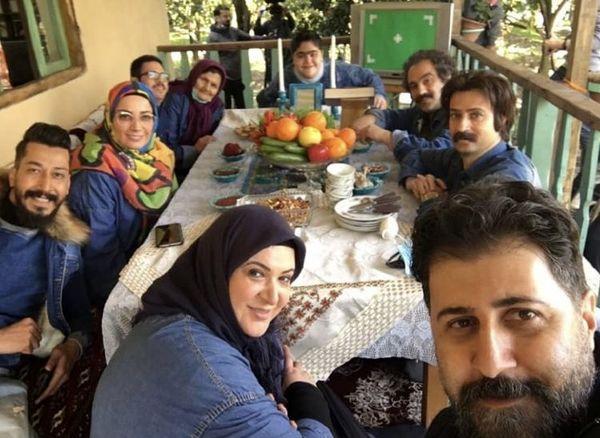 هومن حاجی عبداللهی در سری جدید پایتخت + عکس