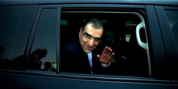 وزیر بهداشت ازدوشنبه به وزارتخانه نرفت