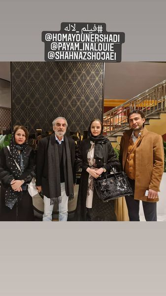 سپیده خداوردی در اکران فیلم لاله + عکس