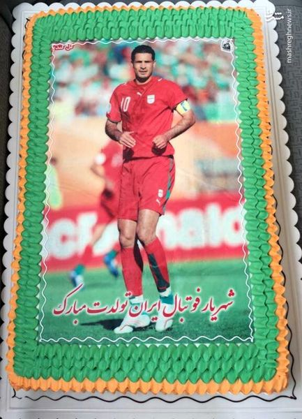 عکس/ کیک تولد علی دایی
