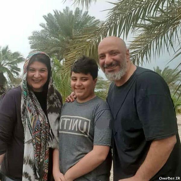 خانواده مهربان امیرجعفری در جنوب+عکس