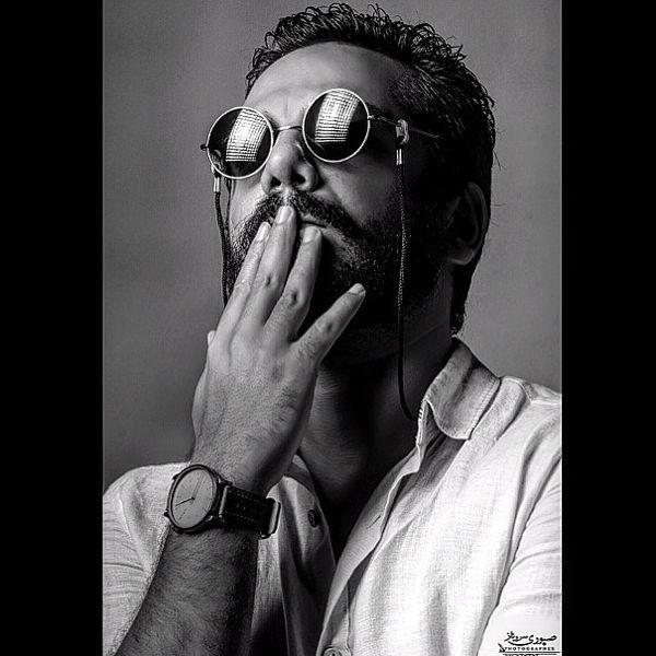 استایل ژورنالی عباس غزالی + عکس