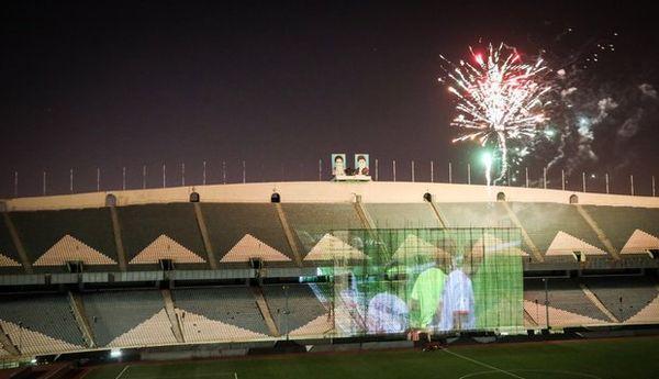 مشعل ورزشگاه آزادی بعد از ۴۰ سال روشن می شود