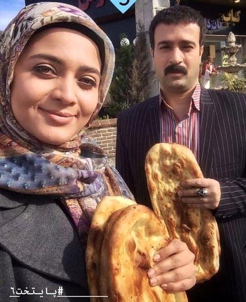سلفی خواهر امیرحسین آرمان با احمد مهرانفر + عکس