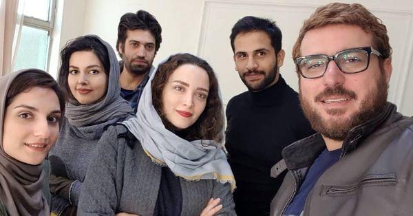 بهنوش طباطبایی و محسن کیایی در رد خون+عکس