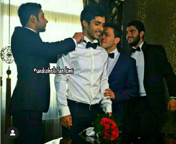 جشن عروسی ساعد سهیلی + عکس