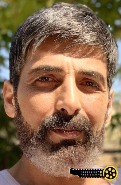 حمید گودرزی با چهره ای دیده نشده+عکس