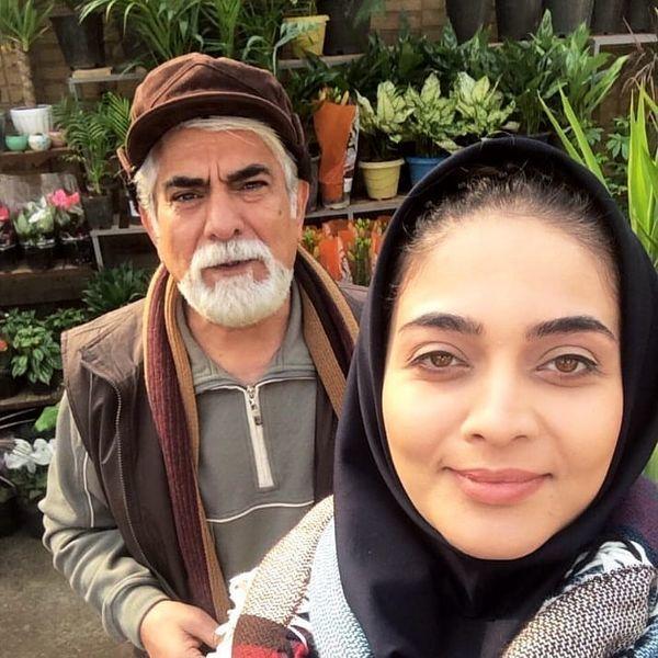 حسین پاکدل و دختر مانکنی اش + عکس