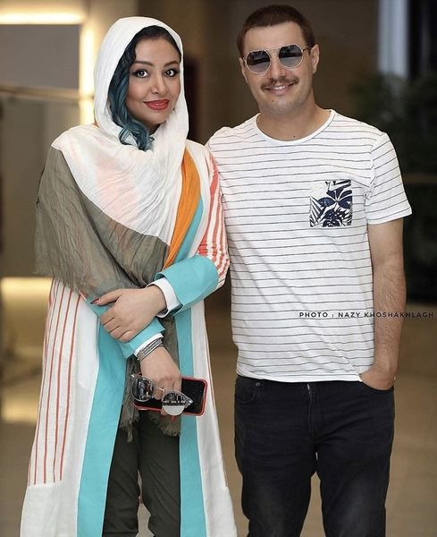 ظاهر متفاوتی از جواد عزتی و همسرش + عکس