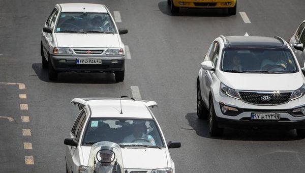 خلوت شدن معابر و افزایش سرعت خودروها