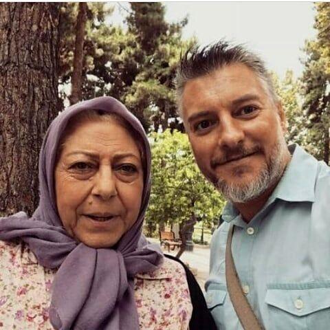 دلتنگی مادرانه ثریا قاسمی +عکس
