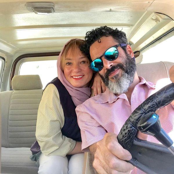 گردش عاشقانه سحر ولدبیگی و همسر بازیگرش+عکس