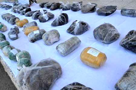 ضبط 713 کیلوگرم مواد مخدر در مسیر خراسان رضوی