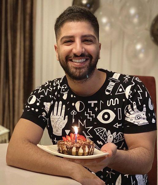 کیک ساده زانیار خسروی + عکس