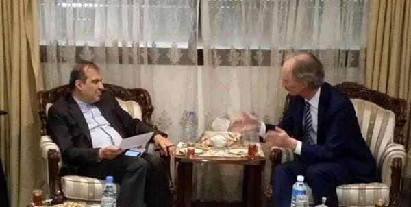 دستیار ارشد وزیر خارجه ایران بر اجرایی شدن توافقات ادلب تاکید کرد