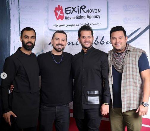 میهمانان ویژه کنسرت امیرعباس گلاب + عکس