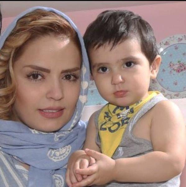 سپیده خداوردی و پسرش در کودکی + عکس