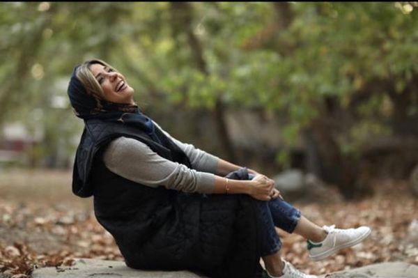 سارا بهرامی در آخرین روز پاییزی + عکس