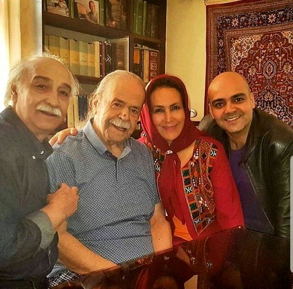 مهمانی خانوادگی پاک نیت ها در خانه محمد علی کشاورز+عکس