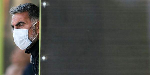 سرمربی استقلال در نشست خبری شرکت نکرد
