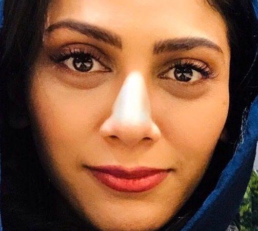 چشمان زیبای مونا فرجاد+عکس
