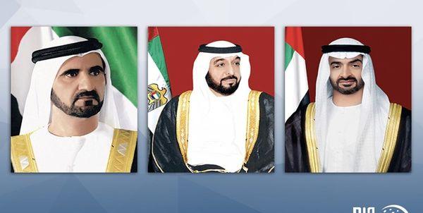 پیامهای تبریک رهبران امارات به بشار اسد