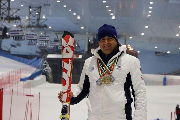 عنوان دومی نماینده ایران در رقابتهای پاراسکی کاپ