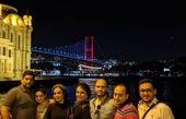 خواهران فرجاد و دوستانشان در استانبول + عکس