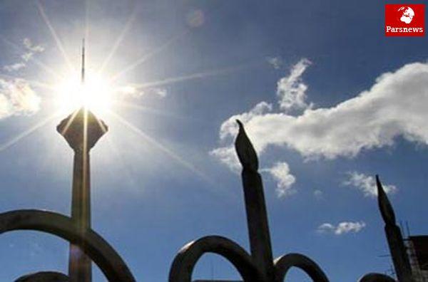 امروز آسمان پایتخت آبی است