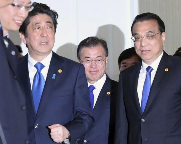 آغاز نشست سهجانبه چین، کرهجنوبی و ژاپن