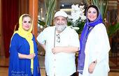 عکس شریفی نیا و دو بازیگر خانم در جزیره کیش