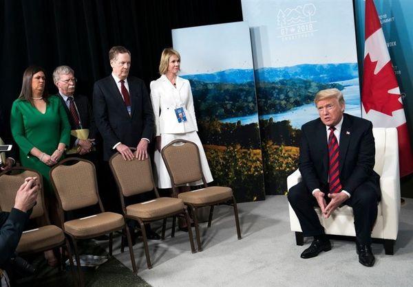 ترامپ به دنبال نابود کردن غرب است